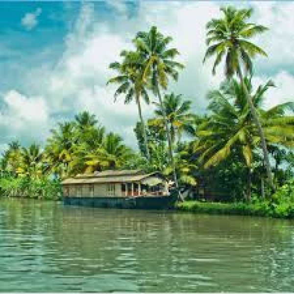 The Backwaters, Kerala 3N/4D